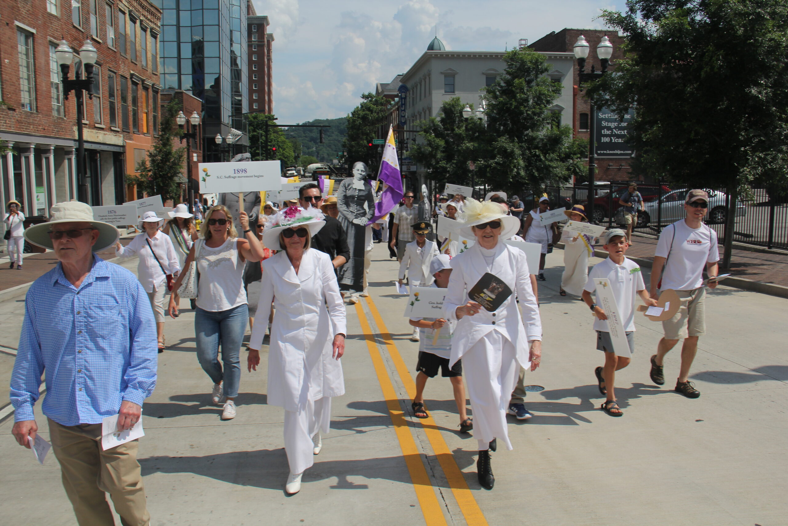 Suffrage Coalition Parade